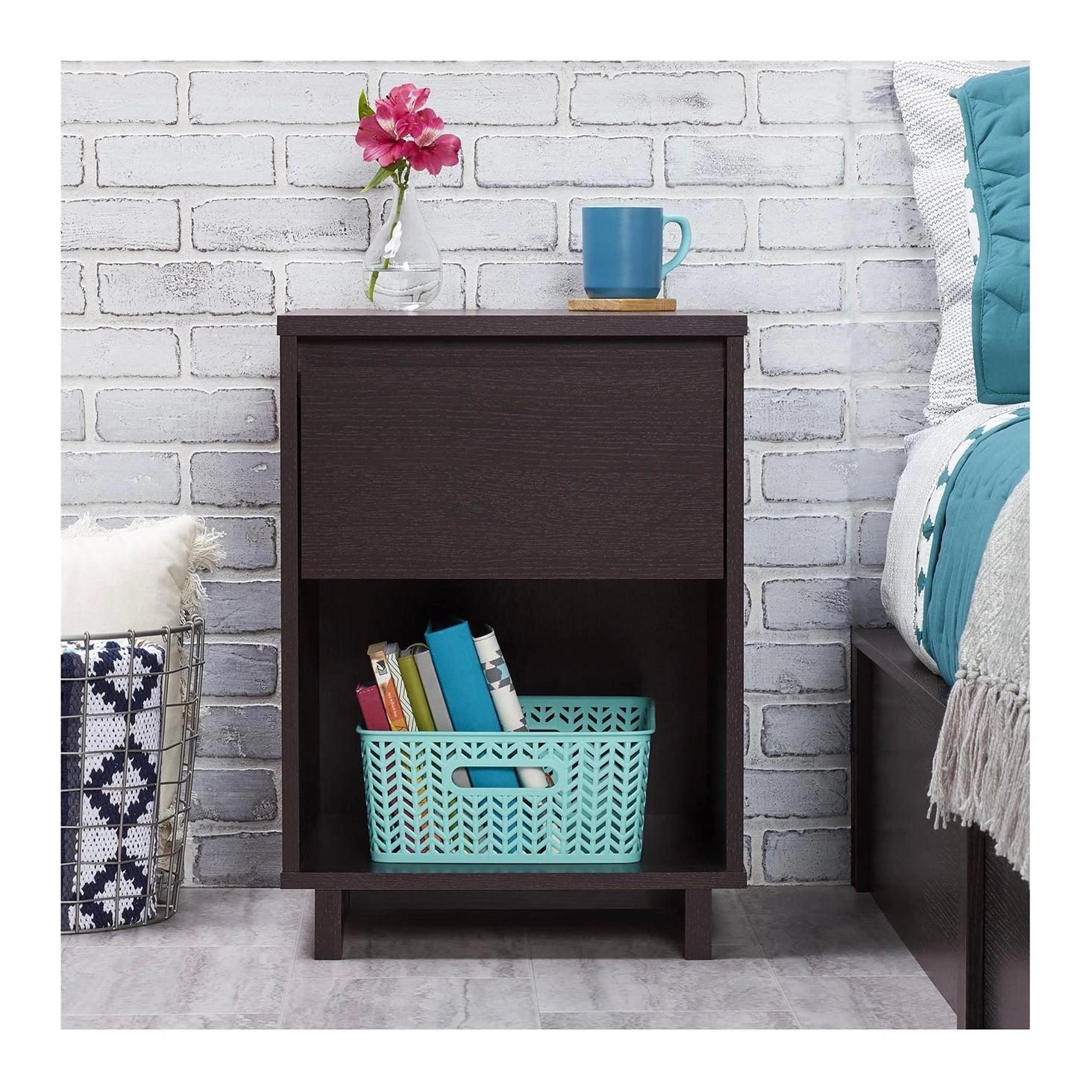 Modern Nightstand By Room Essentials Make Room In That Red
