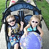 """You Feel Like There Should Be a """"Wide Load"""" Warning Sign Attached to Your Stroller."""