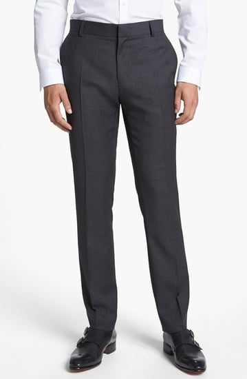 Topman 'Chester' Slim Fit Trousers