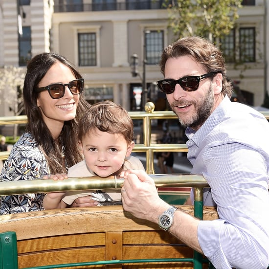 Jordana Brewster Cute Family Pictures