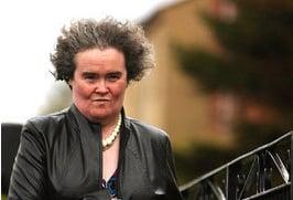 Susan Boyle Britain's Got Talent Setup