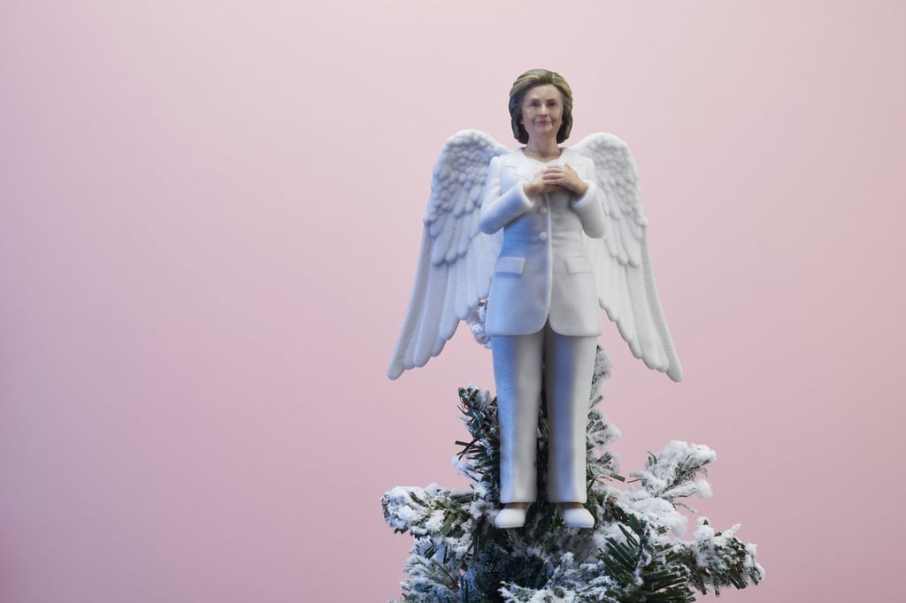 She's the First Lady of Christmas Tree Decorations