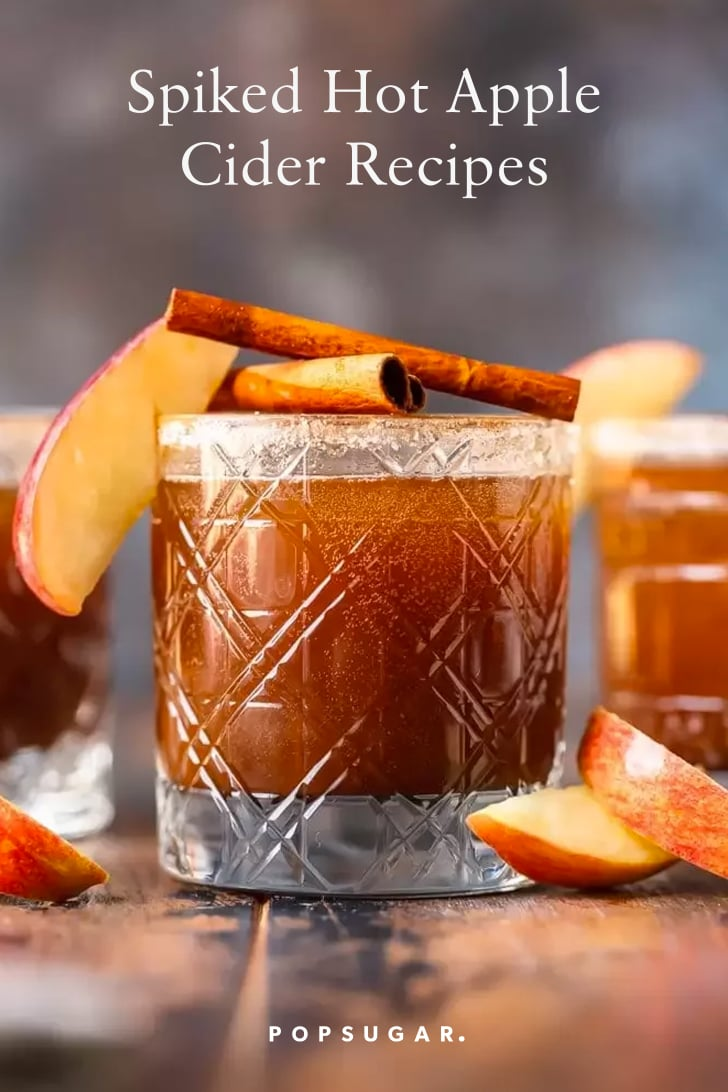 Hot Apple Cider Cocktail Recipes