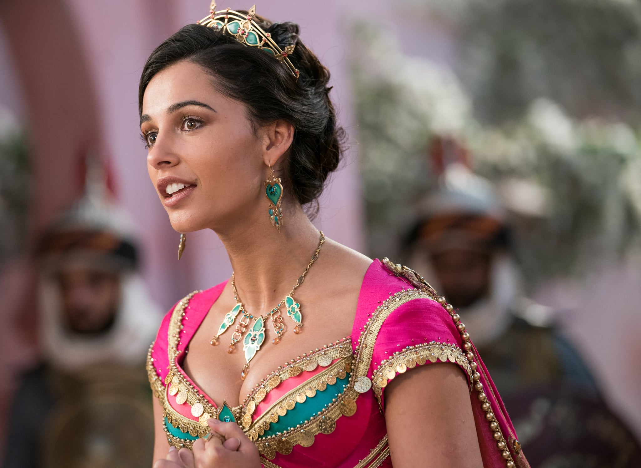 Naomi Scott is Jasmine in Disney's live-action ALADDIN.