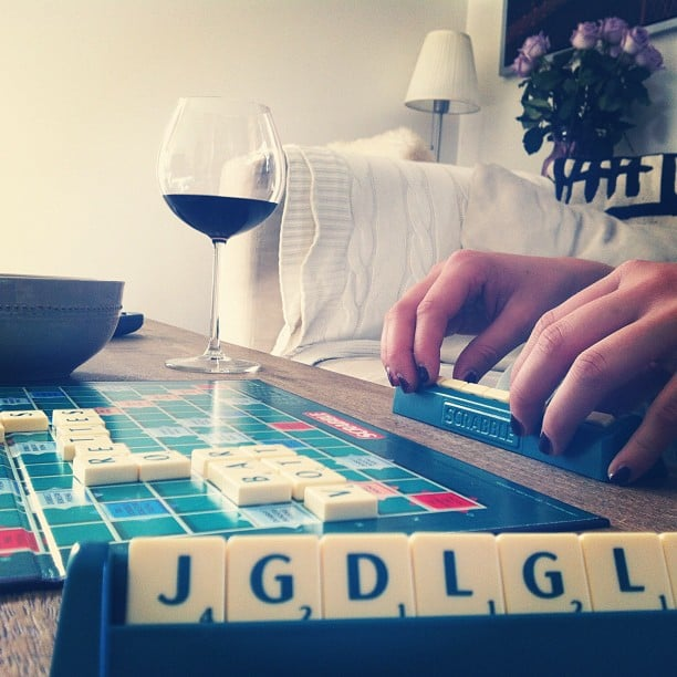 Stay in and Play Scrabble