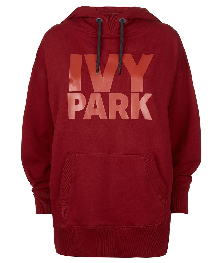 ivy park oversize velvet logo hoodie dress best fitness. Black Bedroom Furniture Sets. Home Design Ideas