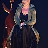 Pink and Her Daughter at the CMA Awards 2017