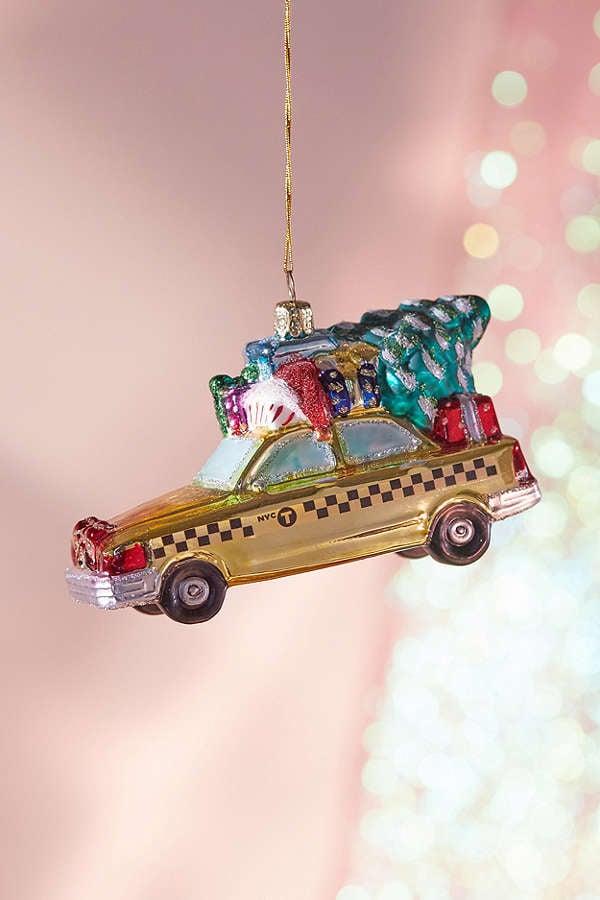 New York City Holiday Cab Ornament