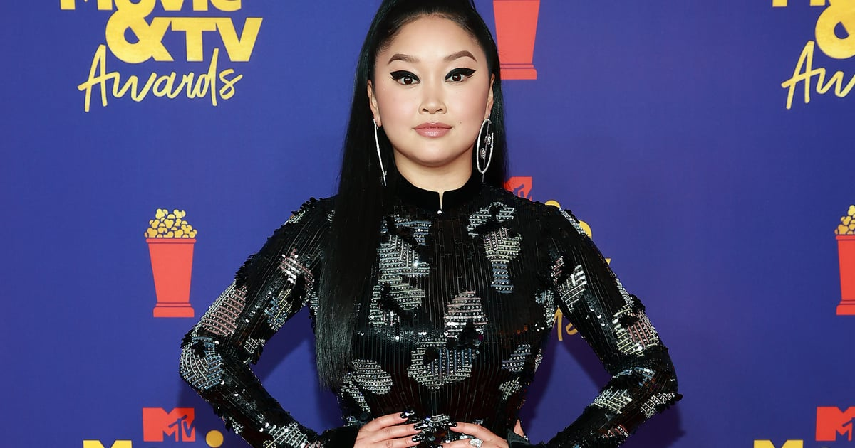 How Long Will We Be Thinking About Lana Condor's Armani Gown? Always and Forever