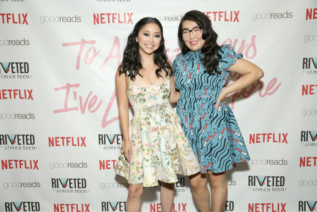 Lana Condor and Jenny Han's Friendship Pictures