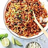 Vegan: Sweet Potato Noodle Enchilada Stir-Fry