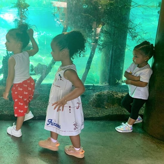 Stormi Webster Photo at the Aquarium July 2019
