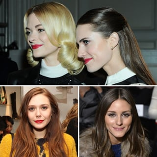 Beauty At NY Fashion Week: Jaime King, Allison Williams