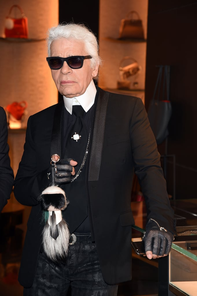 Karl on His Sunglasses