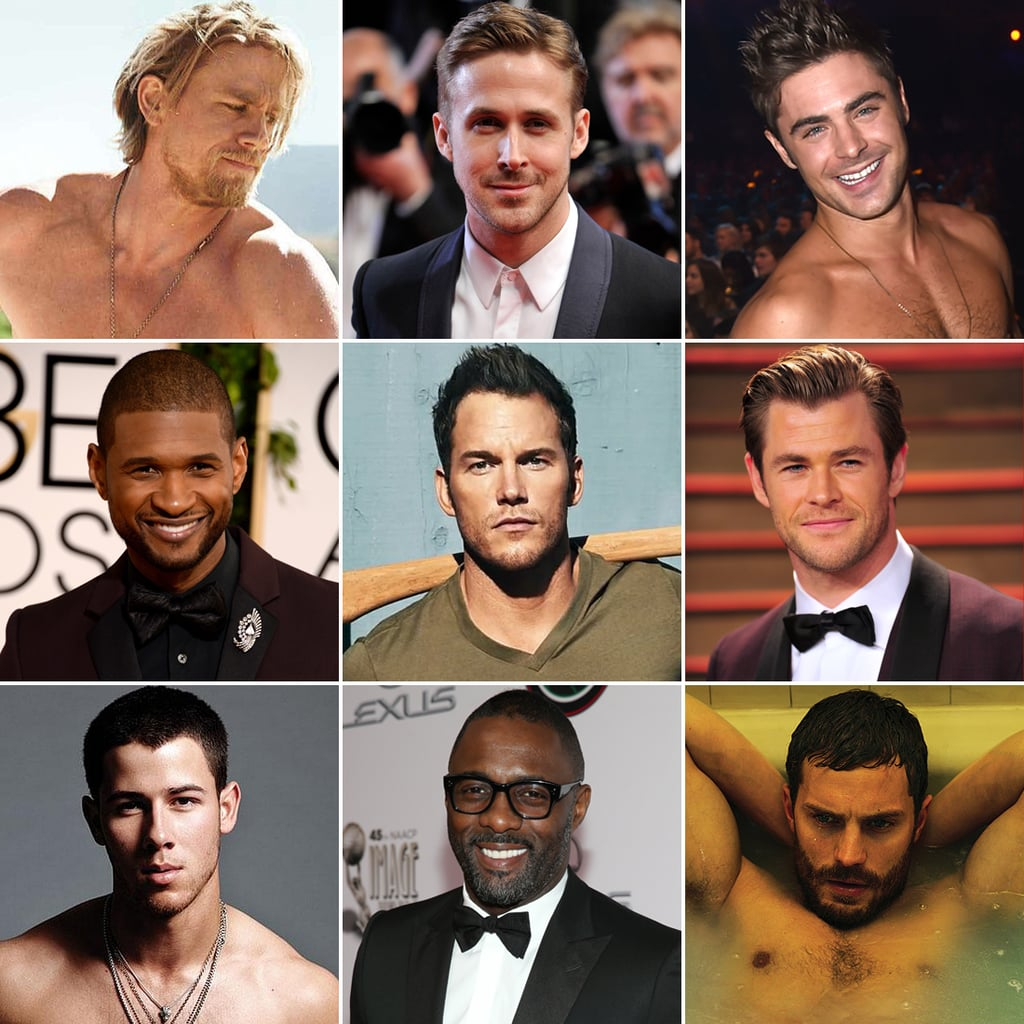 Hot Pictures of Male Celebrities 2014