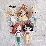 Disney Princess Doll Five Pattern Bundle