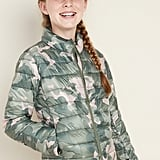 Old Navy Lightweight Packable Nylon Puffer Jacket