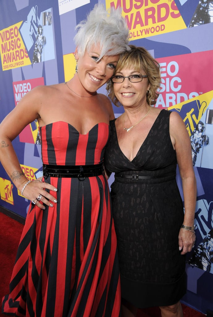 2008: Pink brought her mom, Judy, as her date to the show.