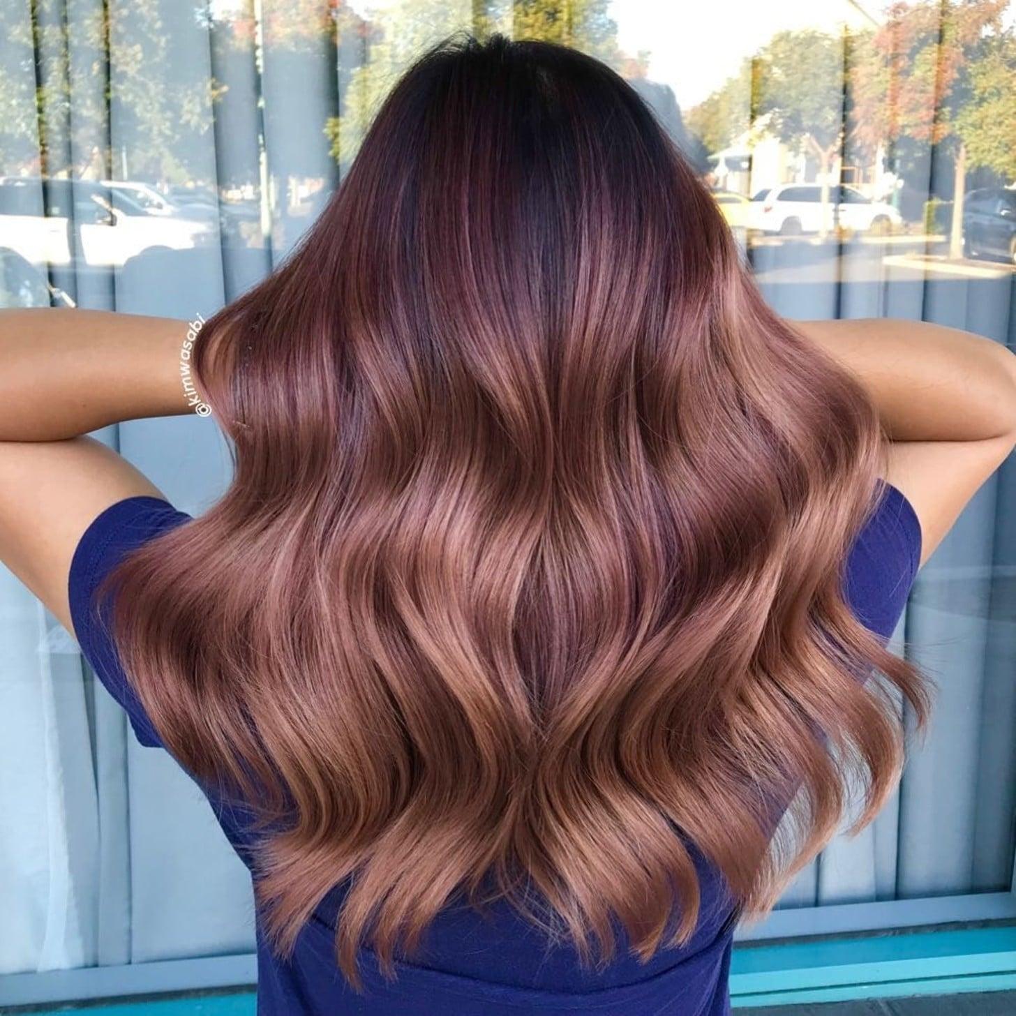 Rose Brown Hair Colour   POPSUGAR Beauty UK