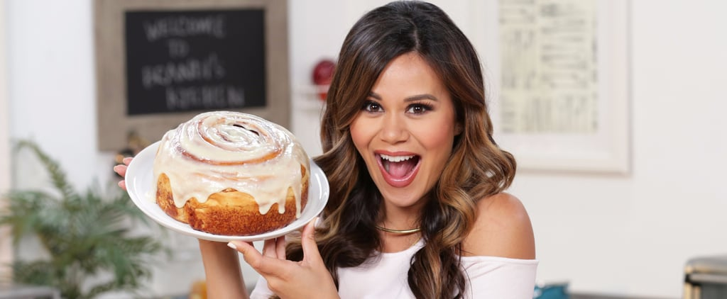 This Supersize Cinnamon Roll Is Ready to Be Sliced (or Not)