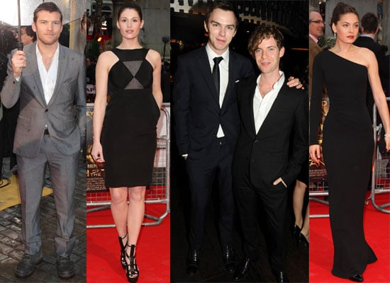 Photos from the UK Clash of the Titans Premiere in London With Sam Worthington, Gemma Arterton, Nicholas Hoult