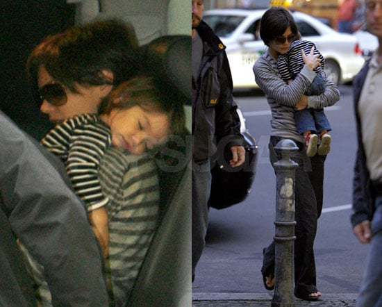 Tom, Katie And Suri Cruise Berlin