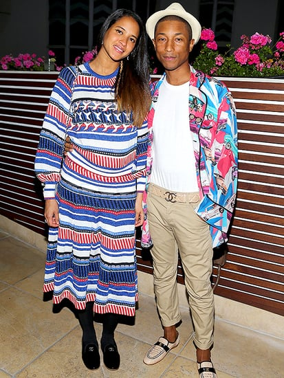 Second Child on the Way for Pharrell Williams and Wife Helen Lasichanh - See Her Baby Belly!