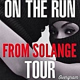 Beyoncé and Jay's New Tour Poster