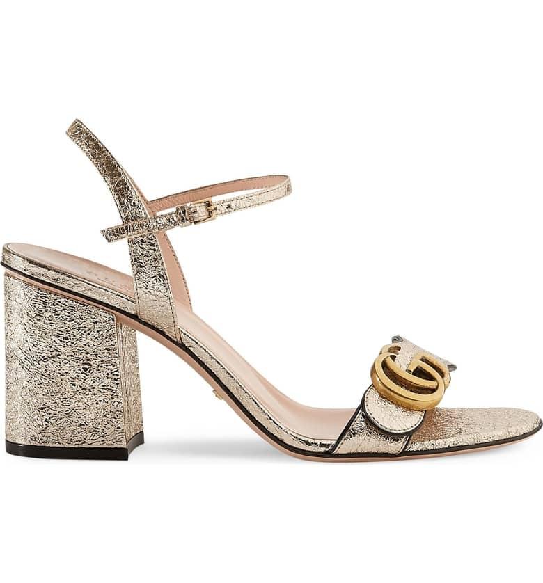 9d02372fe44 Gucci GG Marmont Sandal
