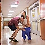 Hospital Entry Way Birth Photos