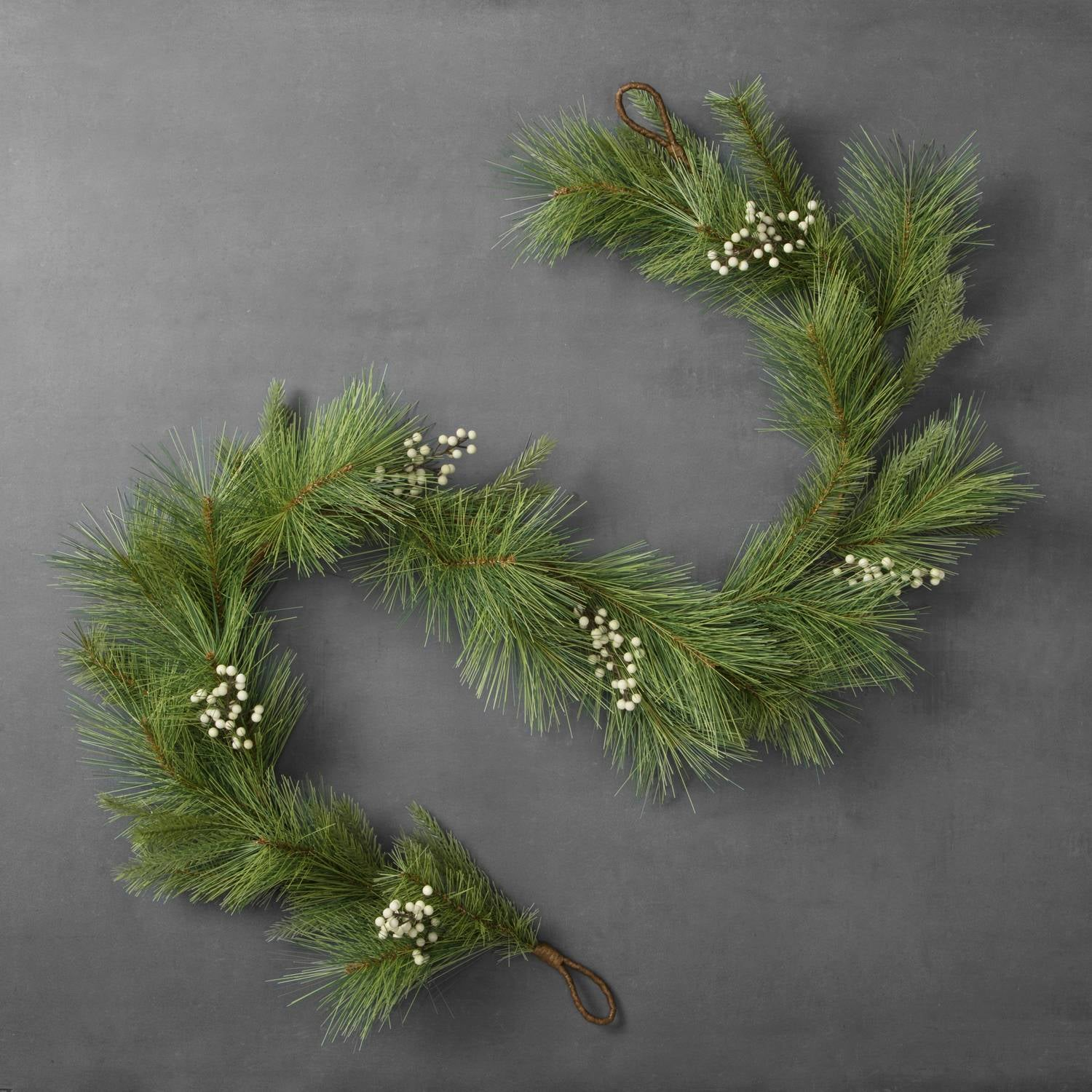 6 Artificial Sage Pine Garland 20 30 Holiday Decor