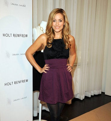 Lauren Conrad at Holt Renfrew in Toronto