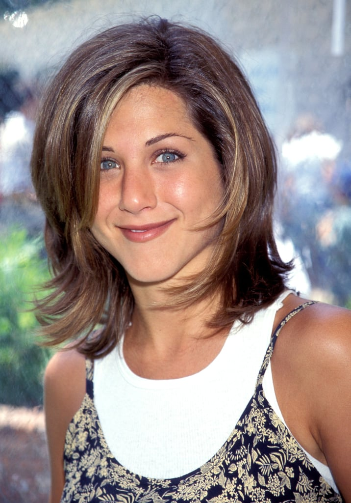 Jennifer Aniston With Subtle Highlights