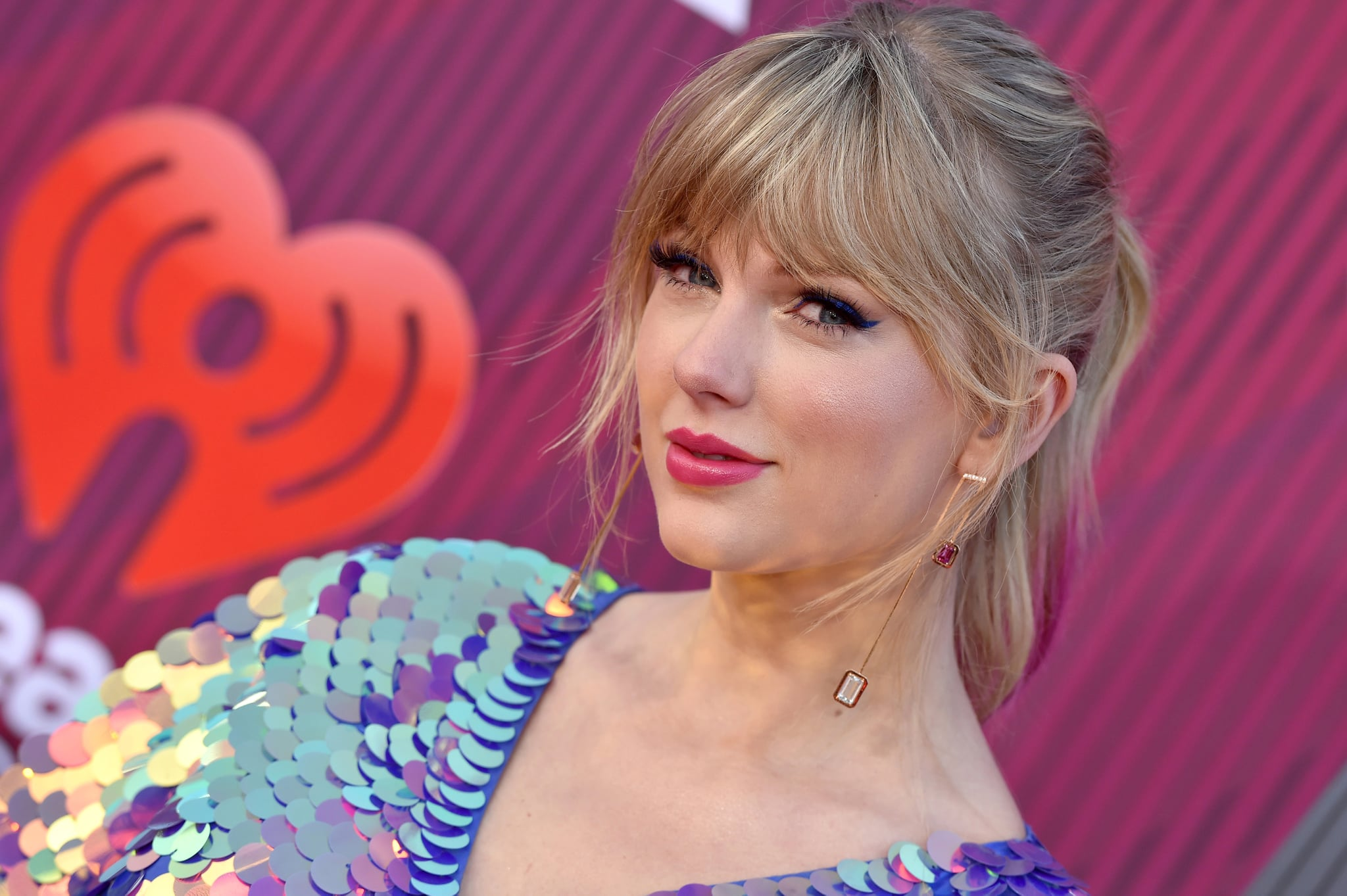 LOS ANGELES, CALIFORNIA - MARCH 14: Taylor Swift arrives at the 2019 iHeartRadio Music Awards which broadcasted live on FOX at Microsoft Theatre on March 14, 2019 in Los Angeles, California. (Photo by Axelle/Bauer-Griffin/FilmMagic)