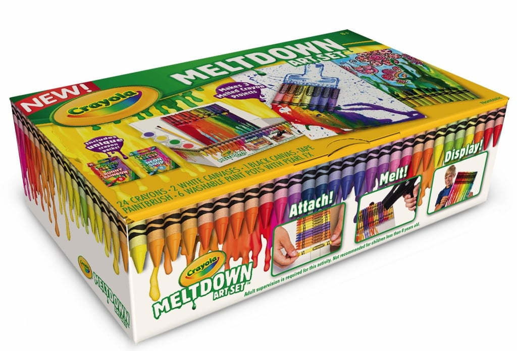 For 6-Year-Olds: Crayola Meltdown Art Set