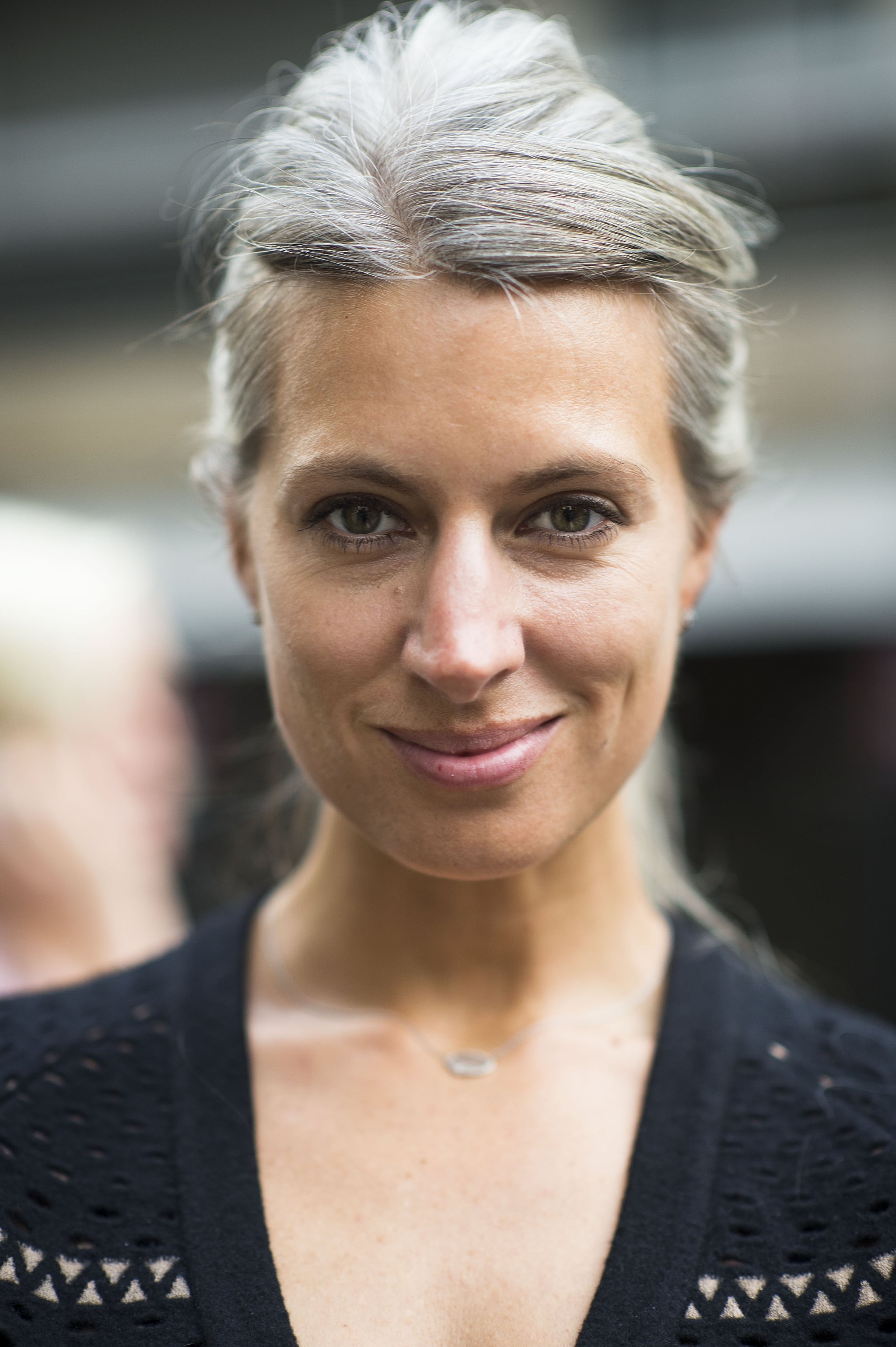 Found: the best argument we've ever seen for going gray on Sarah Harris. Source: Le 21ème | Adam Katz Sinding
