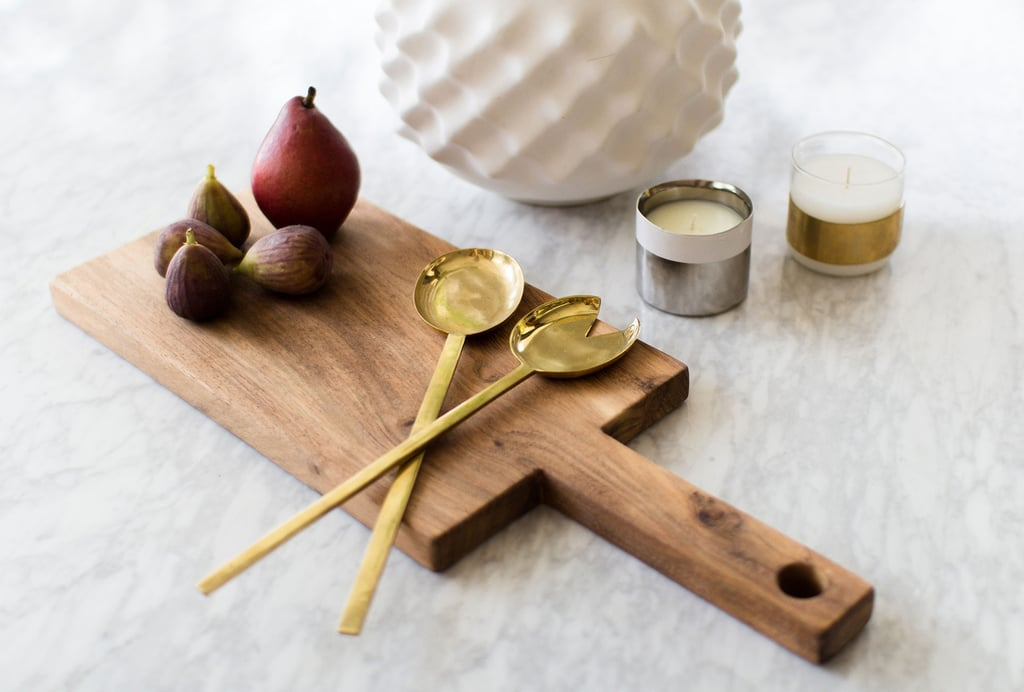 Brass Serving Spoon Set