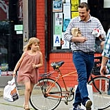 Jason Segel Does a Brooklyn Breakfast With Michelle Williams's Daughter