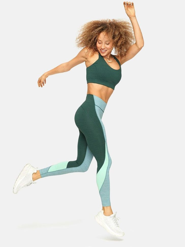Outdoor Voices TechSweat 7/8 Zoom Leggings and Doing Things Bra