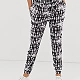 New Look Maternity printed jogger in green pattern | ASOS