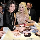 Pictured: Dolly Parton and Lily Tomlin