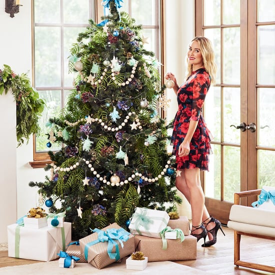 Lauren Conrad Holiday Decorating