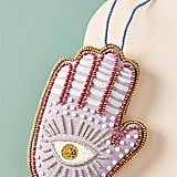 Hamsa Beaded Ornament