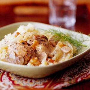 Sunday Slow Cooker: Fennel and Pear Chicken