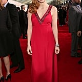 Jessica Chastain's Prada deep-V gown featured cool embellishments at its daring neckline — are you a fan?