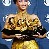Beyoncé won her first Grammy without Destiny's Child.
