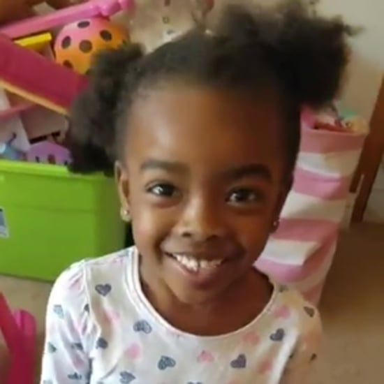 "Video of Little Girl Whose Dad Did Her Hair ""Wrong"""