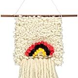 Annabelle Jouot Handmade Rainbow Wool Weave