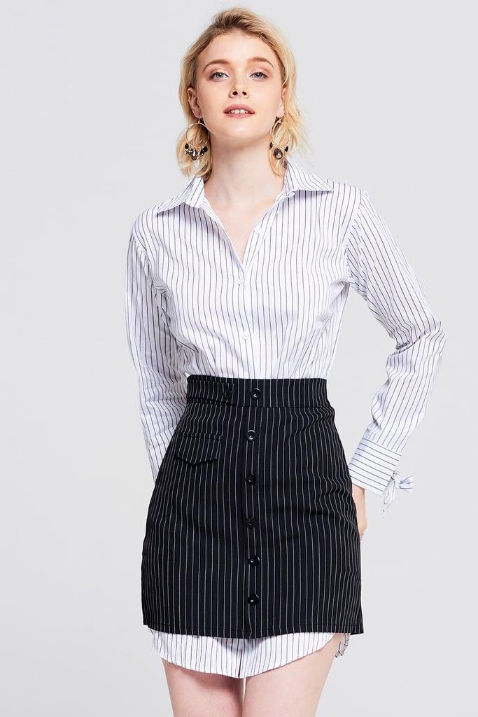 Storets Emma Striped Two-Piece Set