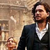 Kit Harington The One Fragrance Campaign Behind the Scenes